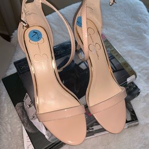Nude sexy sandals